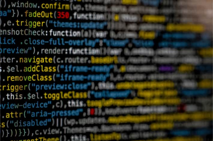 Random programming source code with syntax